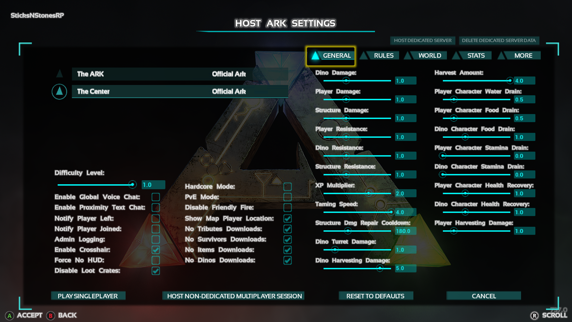 sticksnstonesrp s xbox ark survival evolved game preview gameplay