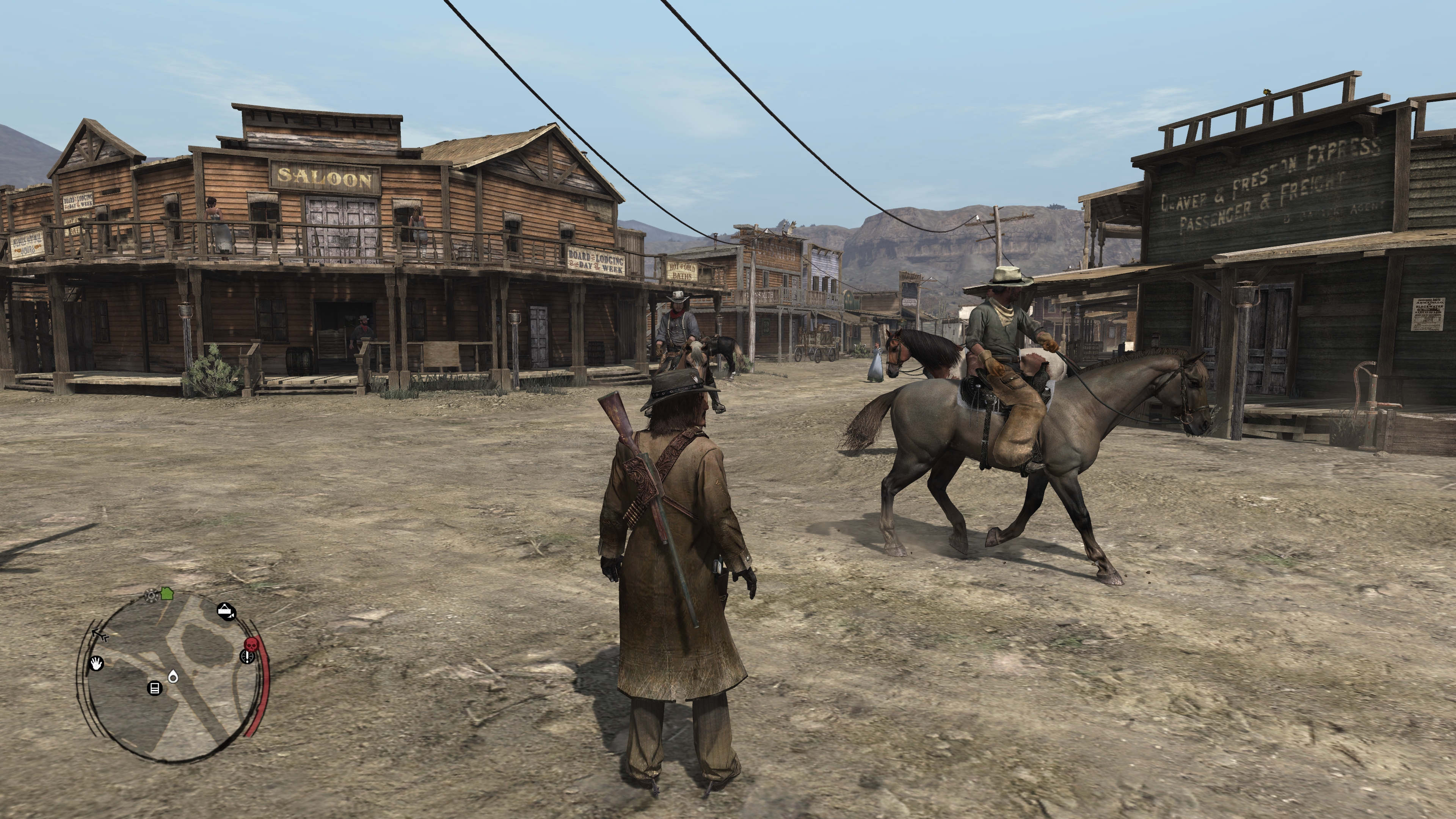 Red Dead Redemption is Native 4K on Xbox One X, screenshots thread